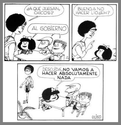Mafalda al gobierno