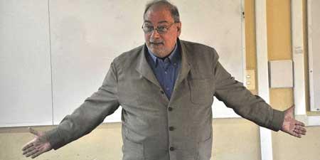 Mario Dehter en UNICEN Olavarría 2010