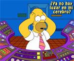 ¿No hay más lugar en el cerebro de Homero?