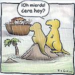 Los dinosaurios no subieron al Arca de Noe