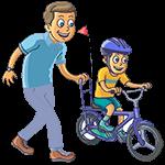 aprender a andar en bicicleta
